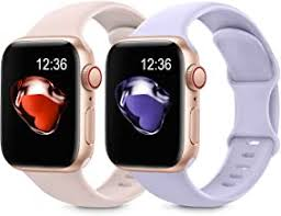 Silicone Watch Band for Apple Watch - Amazon.com