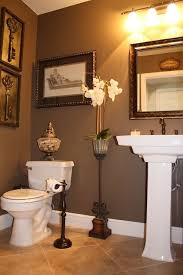 brown bathroom colour scheme examples totally want this for hall bathroom