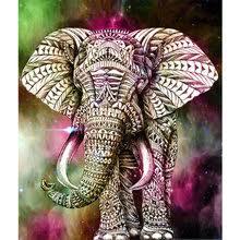 Popular <b>5d Diamond</b> Painting <b>Cartoon</b> Elephant-Buy Cheap <b>5d</b> ...