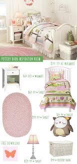 Pottery Barn Girls Bedroom Pottery Barn Owl Themed Girls Bedroom Inspiration On A Budget