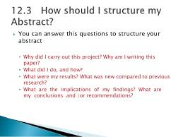example abstract project of a research