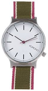 Наручные <b>часы KOMONO Wizard Three</b> Tone Series Silver/Hedge ...
