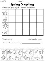 Cut and paste, Kindergarten math worksheets and Kindergarten math ...Spring Kindergarten Math Worksheets (Common Core Aligned)