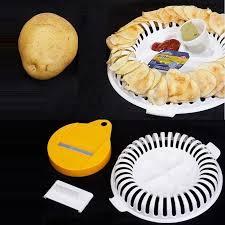 <b>1Pc Microwave</b> Oven Fat <b>Potato</b> Chips Maker Fruit <b>Potato</b> Crisp Chip ...