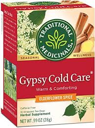 Traditional Medicinals <b>Gypsy Cold</b> Care Herbal Wrapped <b>Tea</b> Bags ...