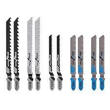 Saw Blades <b>5 Pcs</b> T123X 4 Inch HCS <b>T</b>-Shank Jigsaw Blades Set ...
