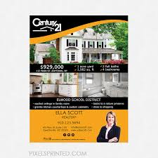 realtor flyer pixels printed realtor flyer