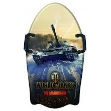 <b>Ледянка</b> 1 Toy <b>World of Tanks</b> с плотными ручками 92 см ...