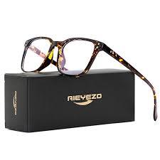 Blue Light Blocking Glasses for Men Women's Square ... - Amazon.com