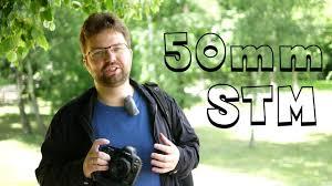 Обзор <b>Canon 50mm</b> f/1.8 STM - YouTube