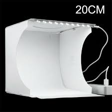 PULUZ 80cm <b>Photo Studio</b> Softbox EU Plug Lightbox White Light ...