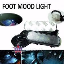 3 <b>LED Car</b> Interior Decorative Floor Dash Light Lamp <b>Car Foot</b> Mood ...