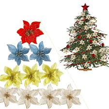 Wreaths, Garlands & Winter Plants Home & Garden <b>5pcs Glitter Silk</b> ...