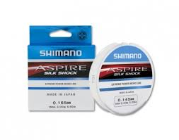 <b>Леска Shimano Aspire</b> Silk Shock NEW 50м (0.08мм – 0.20мм ...