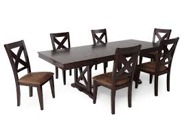 seven piece dining set:  winners only java seven piece dining set