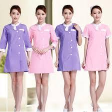new beautician work clothes summer beauty salon dress health technician short sleeve clothing