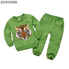 Online Shop <b>ZOTOONE</b> Cool Tiger Patch for Body Iron On Transfers ...