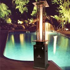 ga m bz portable heater bronze amazoncom lava heat italia patio heater quattro natural gas   btu stai