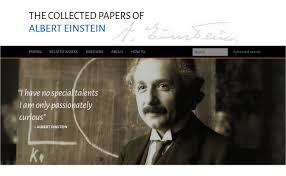 princeton university press launches the digital einstein papers