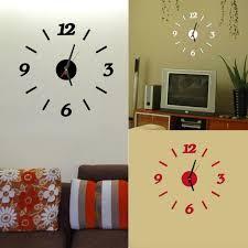 Современные настенные часы <b>DIY</b> 3D <b>Декорирование дома</b> ...