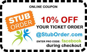 10% off football ticket