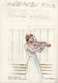 An exaltation of <b>Bach</b> in the hands of <b>Hilary Hahn</b>: Virtuoso marvels ...