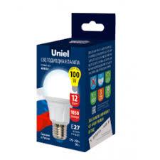 Отзывы о Светодиодная <b>лампа Uniel LED</b> -<b>A60</b> 12W/NW/E27/FR ...