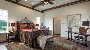 hill country style living room