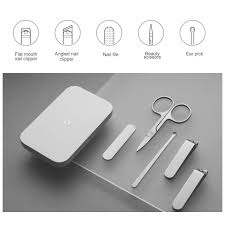 <b>Маникюрный набор Xiaomi Mijia</b> Nail Clipper Five Piece Set, белый