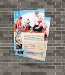 babysitting daycare flyer template by elitely graphicriver babysitting daycare flyer template commerce flyers middot 00 jpg