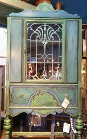art nouveau goddess cabinet bohemian furniture boho chic bohemian decor art nouveau boho chic furniture