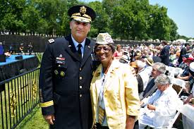 u s department of defense photo essay army chief of staff gen raymond t odierno stands next to jeanette early