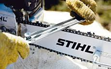 <b>Sharpening</b> a Saw Chain - but how? Instruction | STIHL | STIHL
