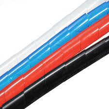 <b>2M Spiral Wire</b> Wrap Tube Manage <b>Cord</b> for PC Computer Home ...