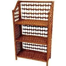 buy cheap oriental furniture woven rattan style design small 3 shelf book case 33 cheap oriental furniture
