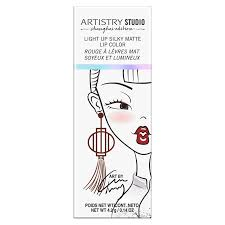 Artistry <b>Studio</b>™ Light Up Silky <b>Matte Lip</b> Color – Spice Red | Lips ...
