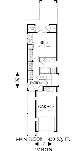 about house plans for narrow lots  narrow lot house plans      reverse floor plan pinit white