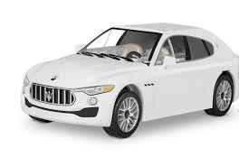 Суперкар <b>Maserati</b> Levante. <b>Конструктор COBI</b>