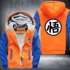 Hot New <b>Dragonball</b> Hoodie Son Goku <b>Sun Wukong</b> Winter Fleece ...