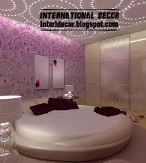 modern circular leather bed furniture design 2013 bed furniture designs