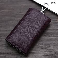 <b>Men</b> Wallet Key <b>Case Key</b> Holder Wallet Coin Purse <b>Genuine</b>...