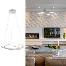 ROYAL PEARL <b>Modern LED</b> Pendant Light Chic Circular ...