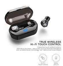 Langsdom <b>F8 Wireless Bluetooth</b> Earphone Touch Control <b>Wireless</b> ...