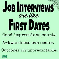 fresh juniper job interviews are like first dates job interviews are like first dates printable quote