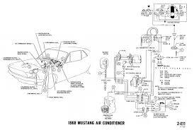 1968 mustang wiring diagrams and vacuum schematics average joe 1968 mustang wiring diagram air conditioning