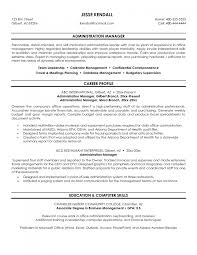 cover letter sample administrative management resume sample cover letter administrative and management resume administrativesample administrative management resume large size