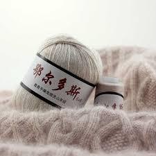 6*(50+20)g 100% Cashmere Yarn High grade Worsted Woolen ...
