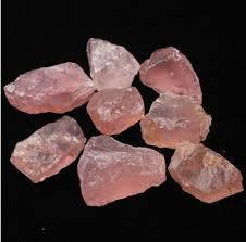 <b>50G Natural Raw Pink</b> Rose Quartz Crystal Stone Specimen ...