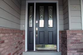 furniture awesome door with sidelight black painted mahogany wood door with single vertical glass sidelight awesome black painted mahogany