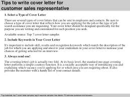 customer  s representative cover letter      tips to write cover letter for customer  s representative